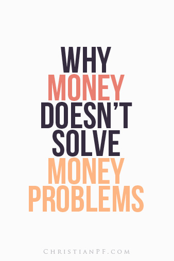 money-solve-money-problems